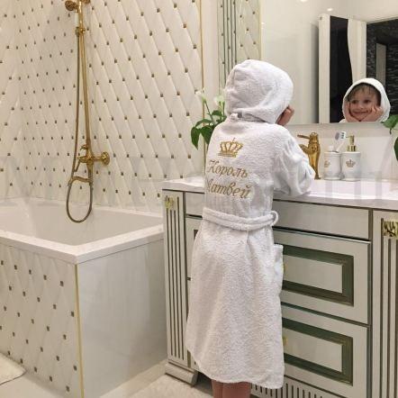 халат в для ребенка